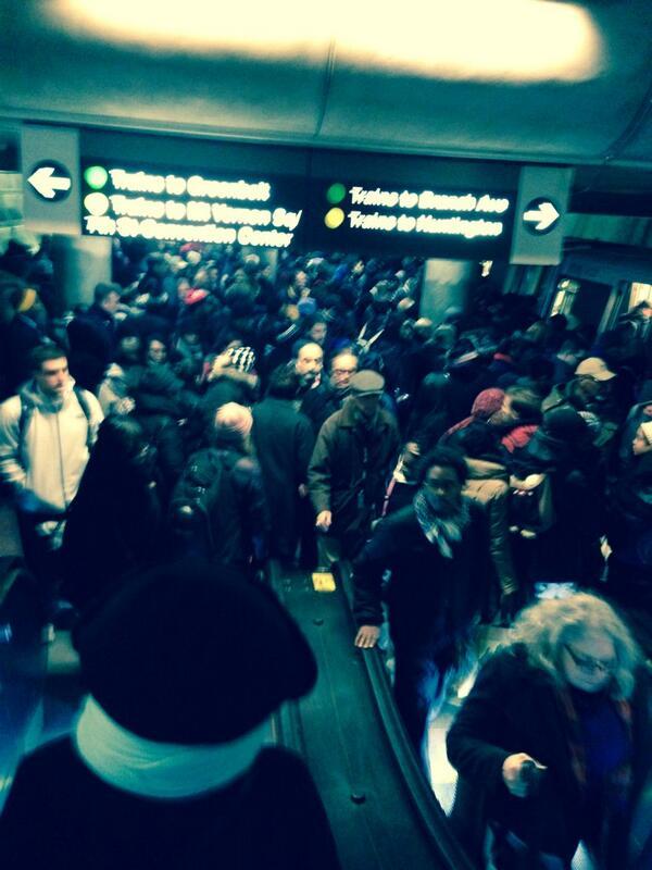 Fire on Metro
