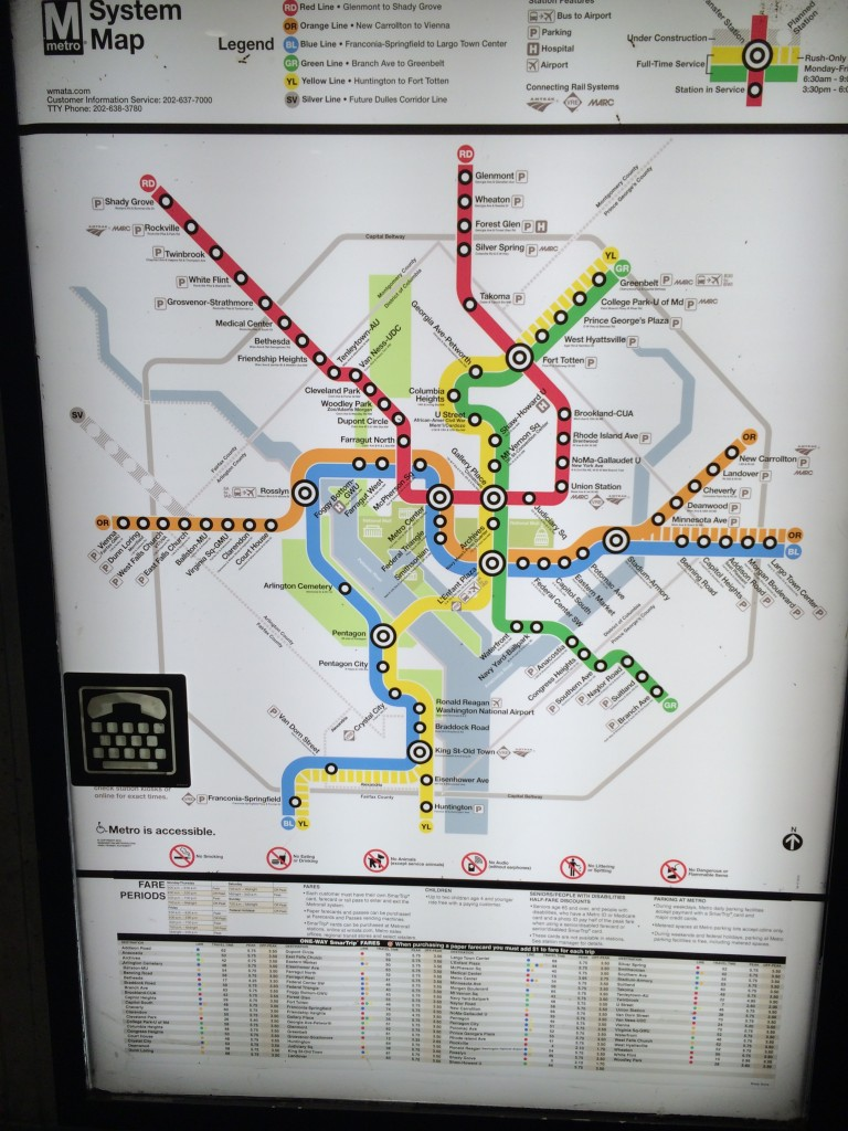 The metro map, I'm still lost, LOL