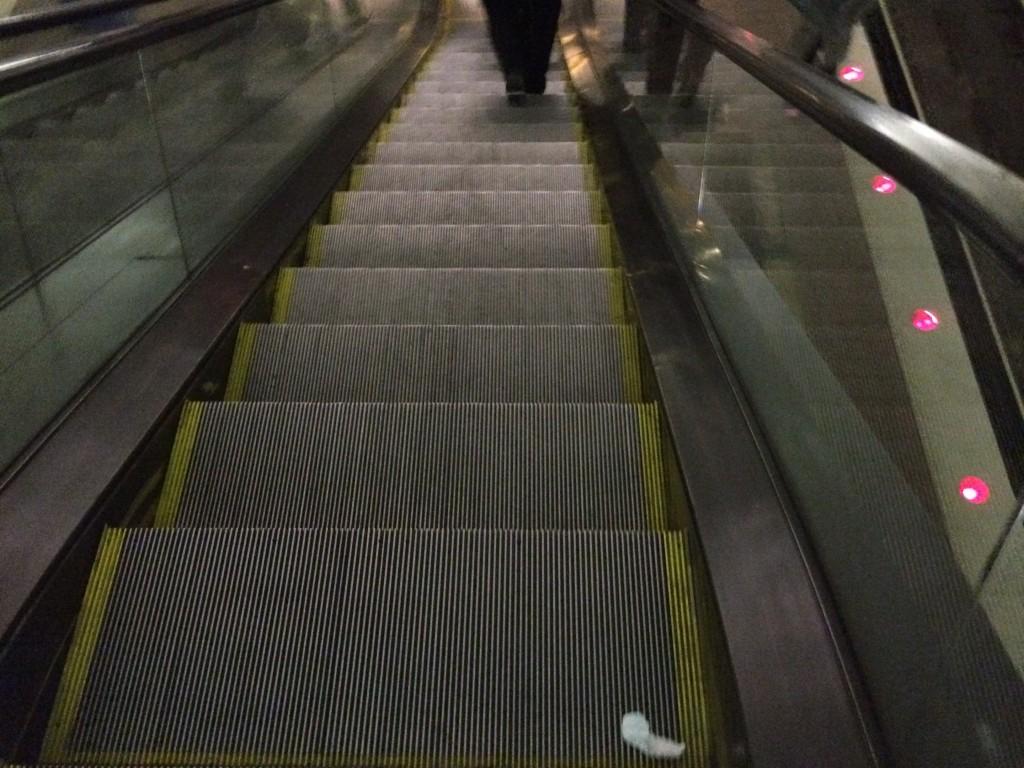 Escalator not working (Again)