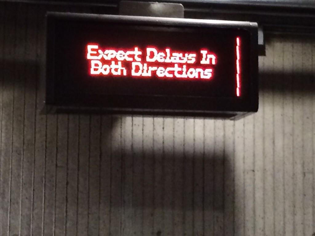 Delays, Delays.