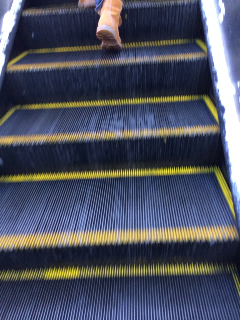 Escalator not working (Again)